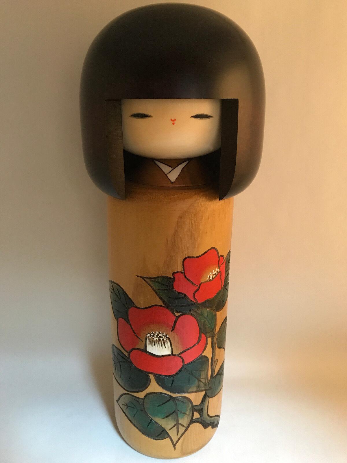 30cm Usaburo Japanese Kokeshi Doll - Made Made Made in Japan - Handmade Wooden Dolls  Entrega directa y rápida de fábrica