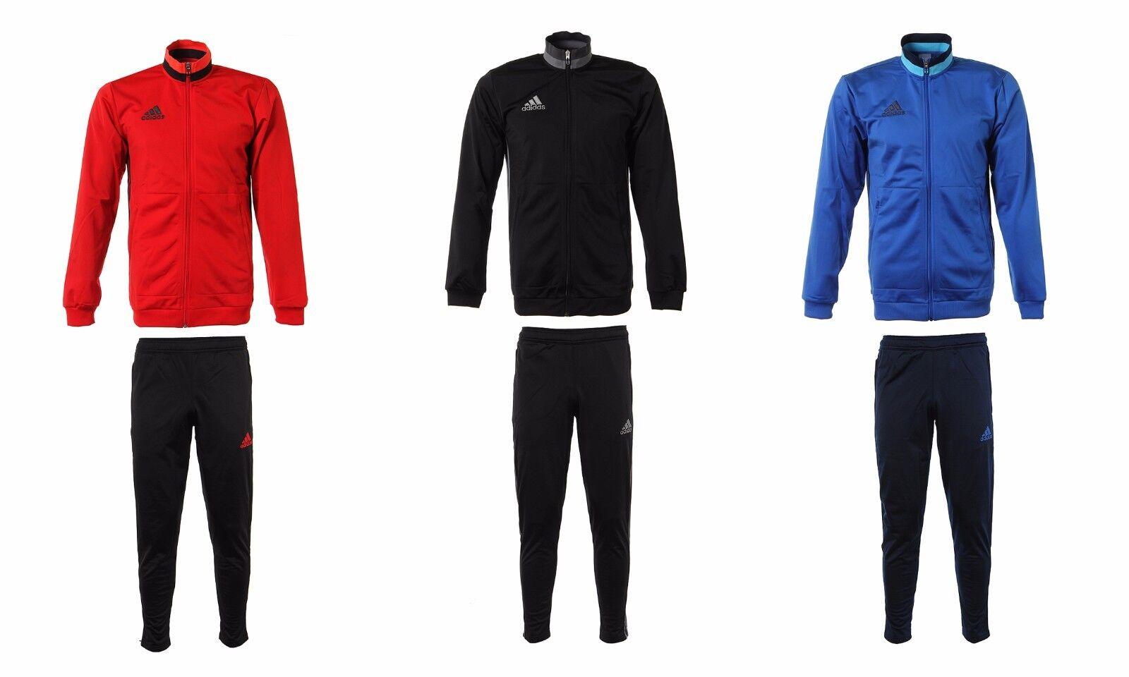 Adidas Condivo 16 PES Fleece Suit Set AN9831 Jersey Top Pants Gym Training