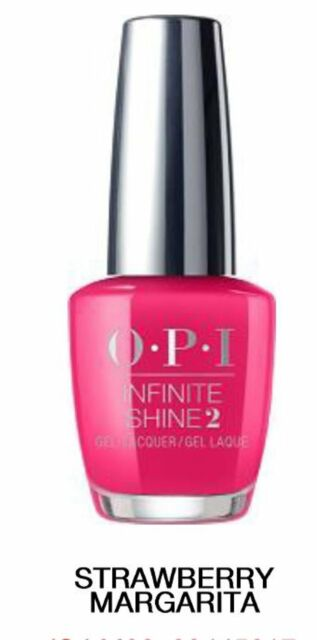 Opi Infinite Shine Strawberry Margarita Nail Polish 15ml For Sale Online Ebay