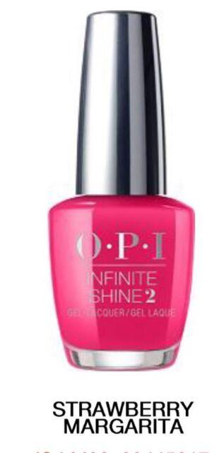 Opi Infinite Shine Strawberry Margarita Nail Polish 15ml For Sale Online Ebay
