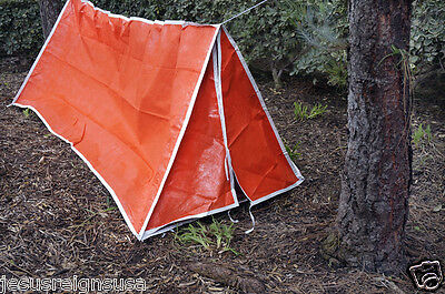 Waterproof Insulated Tent Camping 1-2 Person Outdoor Shelter Survival Pup Man