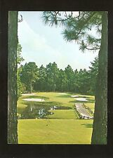 Vtg 1970's Postcard 3rd HOLE, PINE NEEDLES COUNTRY CLUB, Southern Pines, N.C.