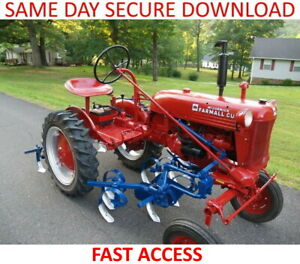 Farmall-Cub-IH-Tractor-Service-amp-Operation-Manuals-FAST-ACCESS
