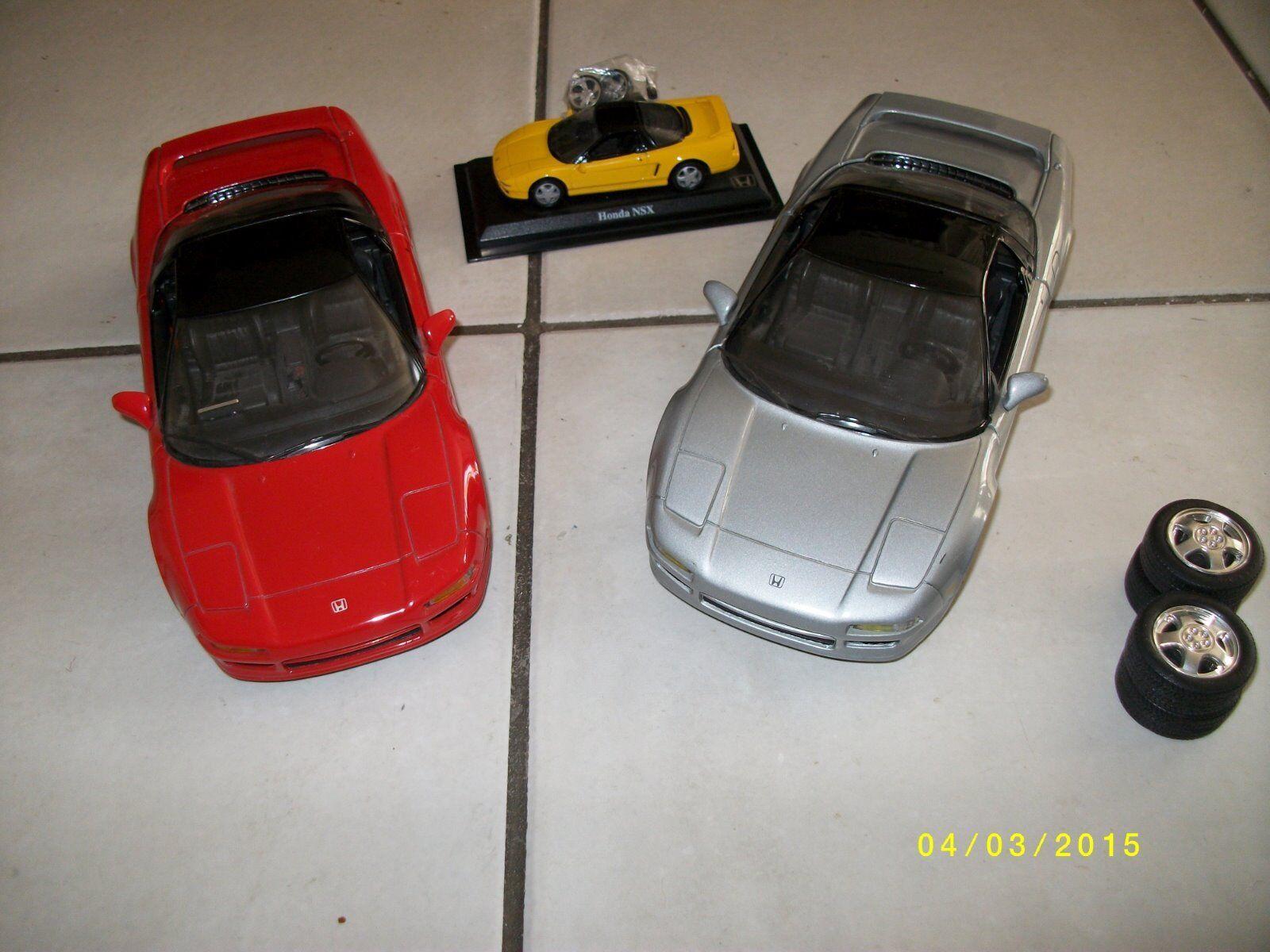 Voiture Miniature 1 18 Modèle 3 VOITURES AUTO HONDA NSX collection TUNING jantes REVELL 1992