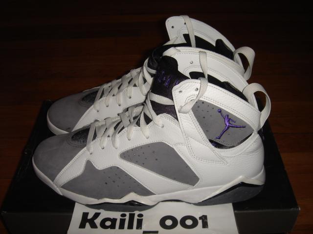 Nike air jordan 7 retrò vii 44 flint olympic raptor chambray bin db 2005