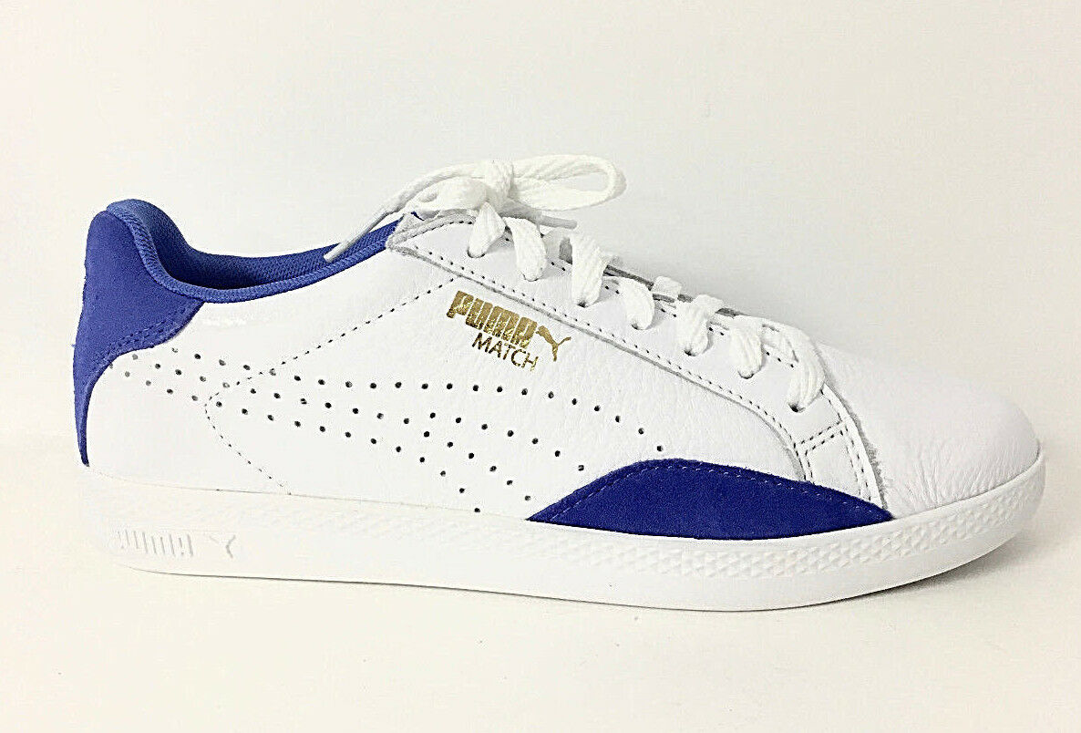 Puma-Match Lo sport de base Blanc baskets Taille 7, Retail  65