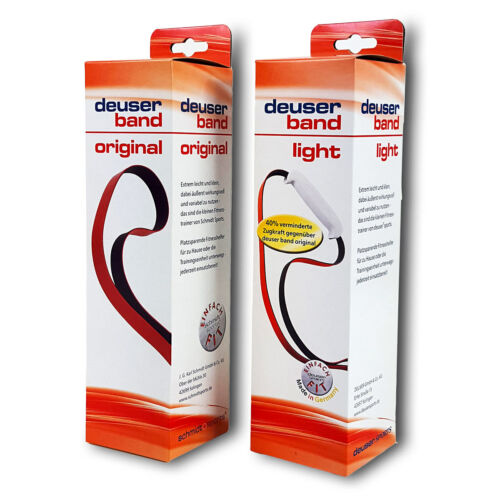 Deuserband Original Deuser Band-Set rot light rot Original2 Bänder im Set