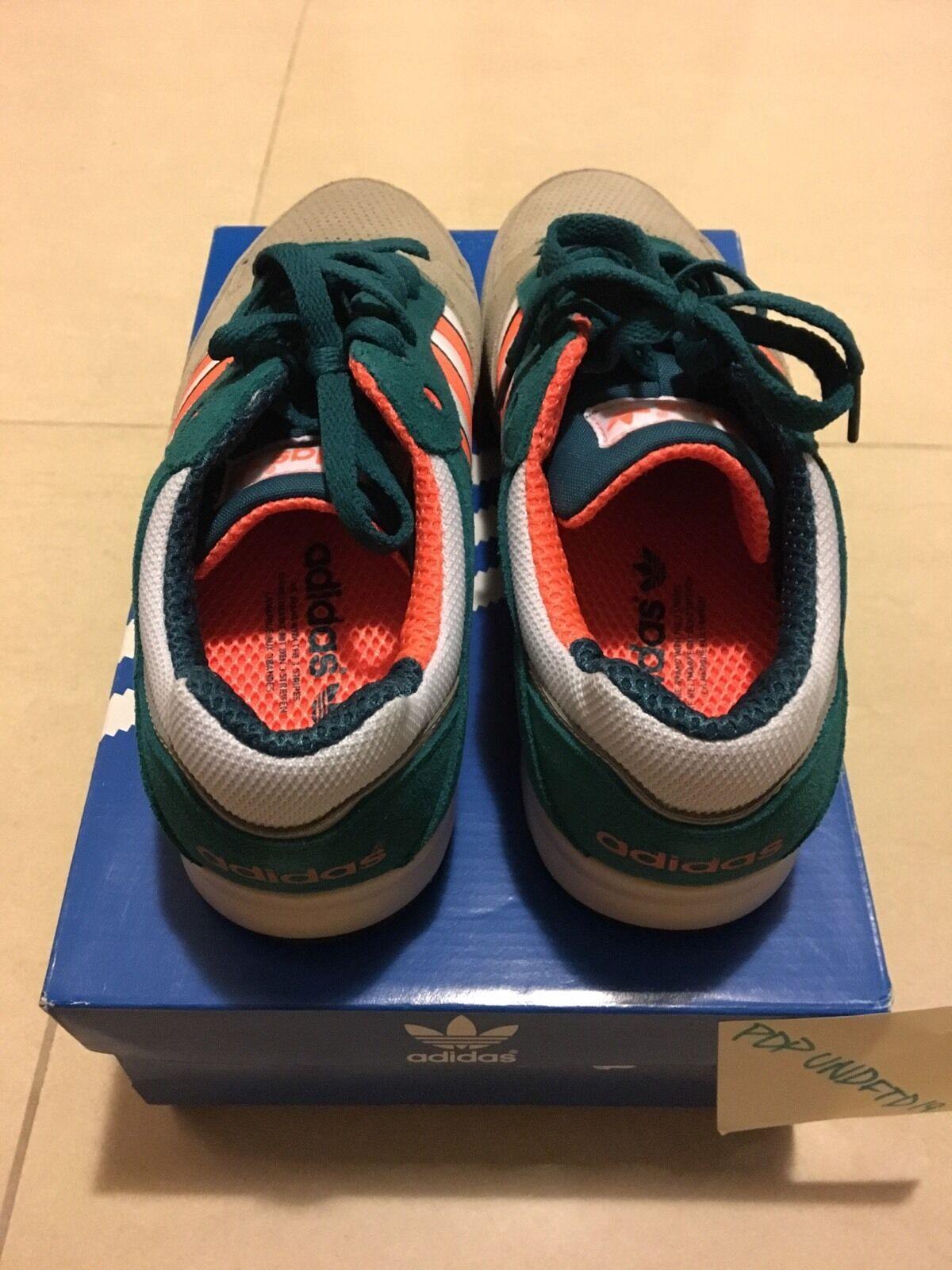 Ds adidas - dolphin super - miami dolphin - größe 9,5 189d3b