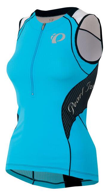Pearl Izumi Para Mujer Elite In-r-cool Tri SL Triatlón Jersey Azul Atoll-medio