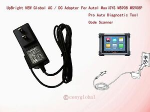 Diagnostic Service Tools AC Power Supply Adapter Charger For AUTEL Maxisys MS906 MS908 MS908 PRO Scanner