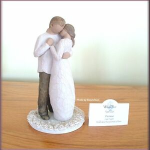 willow tree promise wedding cake topper promise cake topper wedding from willow tree 174 free 27490
