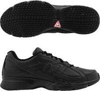 Balance 512 Black Walking Nurse Kitchen Work Shoe 7.5 D-wide Non-skid