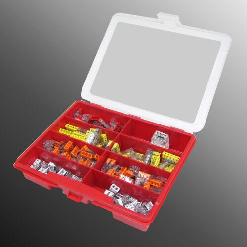 85 ó 170 piezas con caja Wago set Wago bornas set 2273 202//203//204//205//208