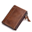 Men-Women-Genuine-Leather-Cowhide-Bifold-Wallet-Holder-Credit-Card-Retro-Purse miniature 15