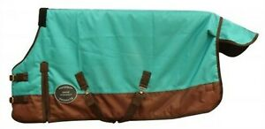 Showman-TEAL-PONY-amp-YEARLING-Size-56-034-62-034-Waterproof-Breathable-Turnout-Blanket