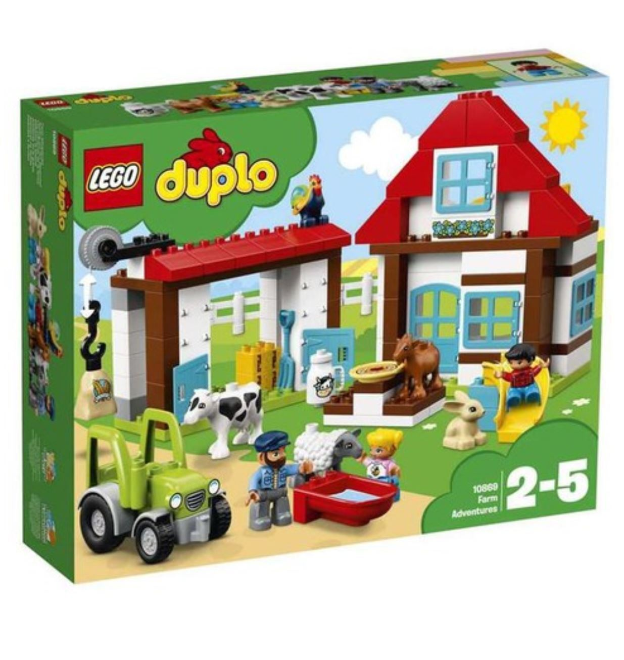 Duplo 10869 Creative Play Farm Farm Farm Adventures 2018 Version Free Shipping ae3dd7