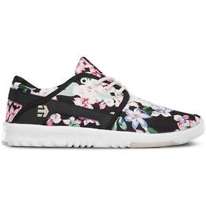 Etnies - Scout W'S BLACK FLORAL Damen Women Blumen Hallen Schuhe Sneaker Neu
