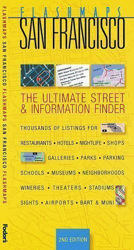 Flashmaps San Francisco, 2nd Edition: The Ultimate Street & Information Finder (