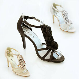 NEW-WOMENS-LADIES-3-SATIN-FLOWER-WEDDING-PROM-BRIDAL-EVENING-SHOES-SIZE-3-8-0526