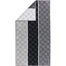 Brandneu online hier Modern und elegant in der Mode Joop Frottier Handtücher Signature Cornflower Stripes schwarz 257661