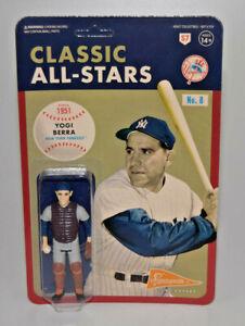 Yogi Berra Catcher Super7 Classic All-Stars New York Yankees ReAction MLB Figure