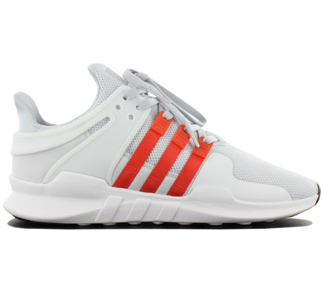 Mens adidas EQT Support ADV Clear Gris bold Orange Textile UK 5 eBay