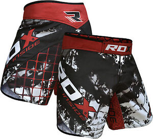 RDX MMA Shorts Grappling Boxing Muay Thai Men Cage Fight Trunks Kick R1 CA