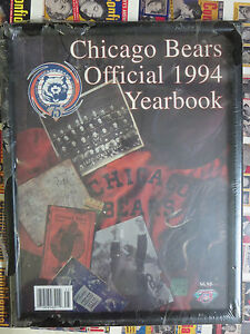 Chicago-Bears-Official-1994-Yearbook-with-Frame-75th-Anniversary