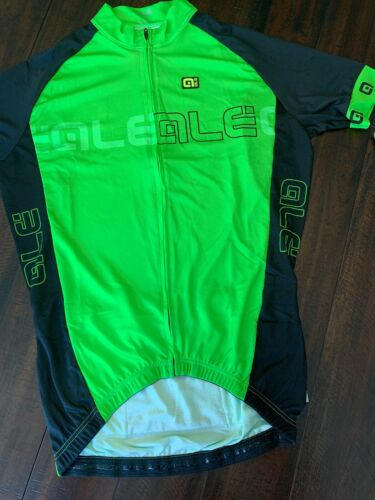 ALÉ CYCLING EXCEL BASIC GREEN//BLACK Large