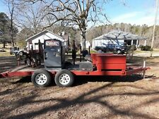 Lincoln Sae 400 Diesel Welder With Trailer And Extras