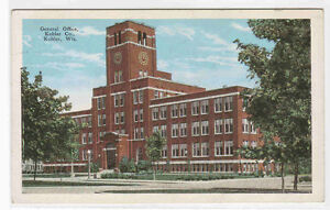 General Office Kohler Company Kohler Wisconsin 1920c postcard | eBay