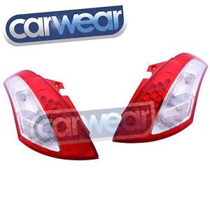 SUZUKI SWIFT 11- FZ GA GLX GL CLASSIC SPORTS CLEAR RED LED TAIL LIGHT