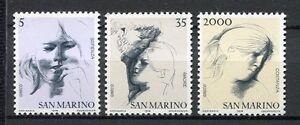 30000-San-Marino-1978-MNH-New-Art-Virtue-3v