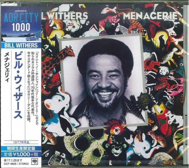 BILL WITHERS-MENAGERIE -JAPAN CD B63