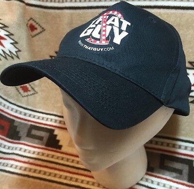 Black WWW THAT GUY dot com adjustable 100% Cotton Ball Cap New WOT