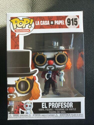 MONEY HEIST LA CASA DE PAPEL EL PROFESOR FUNKO POP MINT CONDITION RARE