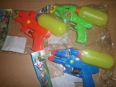 10 Wasserpistolen 17 cm doppel Düsen Mitgebsel Kindergeburtstag P 549