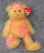 - MWMTs Stuffed Animal Toy 9 inch TY Punkies RAINBOW the Bear