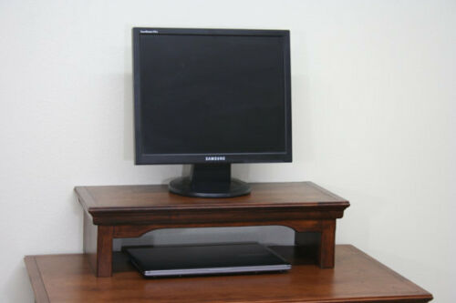 TV Riser//Laptop//Soundbar Stand Traditional Alder