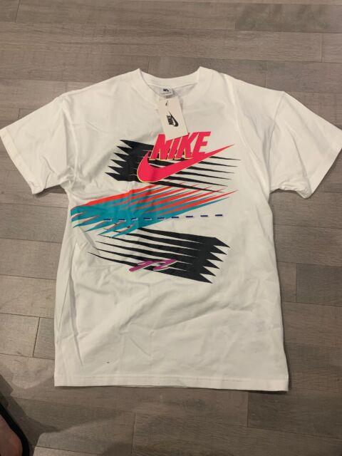 Nike x Atmos safari Tee Shirt White t shirt CI3197 100 Men's Sz extra small XS