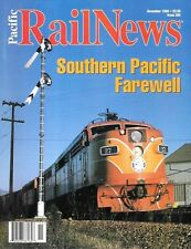 Pacific Rail News 396 1996 Southern Pacific Farewell Sunset Route Norden Nevada