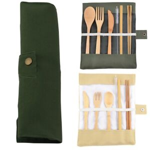 Portable-Bamboo-Cutlery-Travel-Eco-friendly-Fork-Spoon-Straw-Set-Kit-W-Pouch