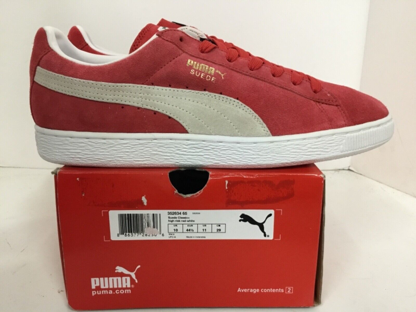 Puma Suede Classic+ Mens Style# 352634 65 Size 11
