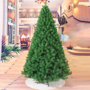 Traditional Christmas Tree.Details About 4 5 6 7 Ft Artificial Pvc Christmas Tree Xmas Tree W Stand Traditional Decor Us