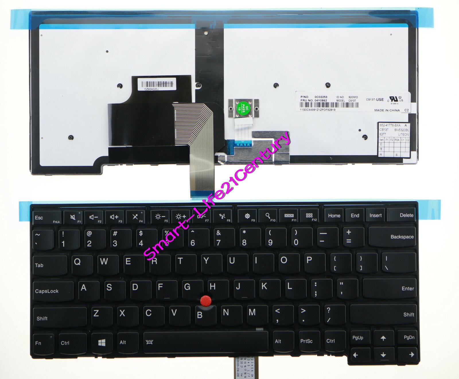 For lenovo IBM Thinkpad T440 T450 T450s T431s E431 E440 L450 US Keyboard backlit