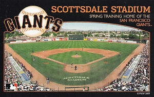 SAN-FRANCISCO-GIANTS-SPRING-TRAINING-BASEBALL-STADIUM-POSTCARD-SCOTTSDALE-ARIZ