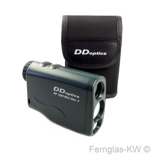 NEU DDoptics Rangefinder Laser Entfernungsmesser RF 1200 Mini Gen 3 mit Tasche