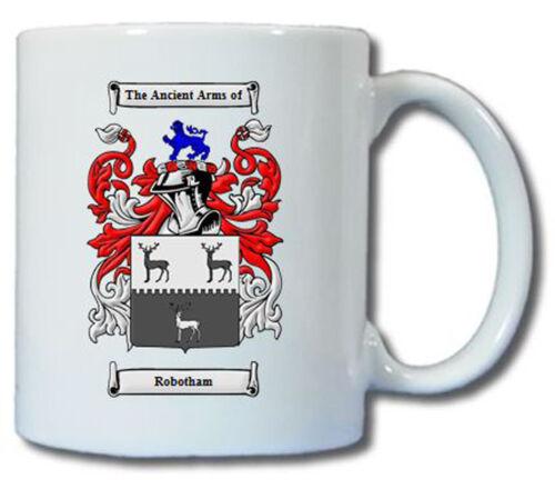 ROBOTHAM COAT OF ARMS COFFEE MUG