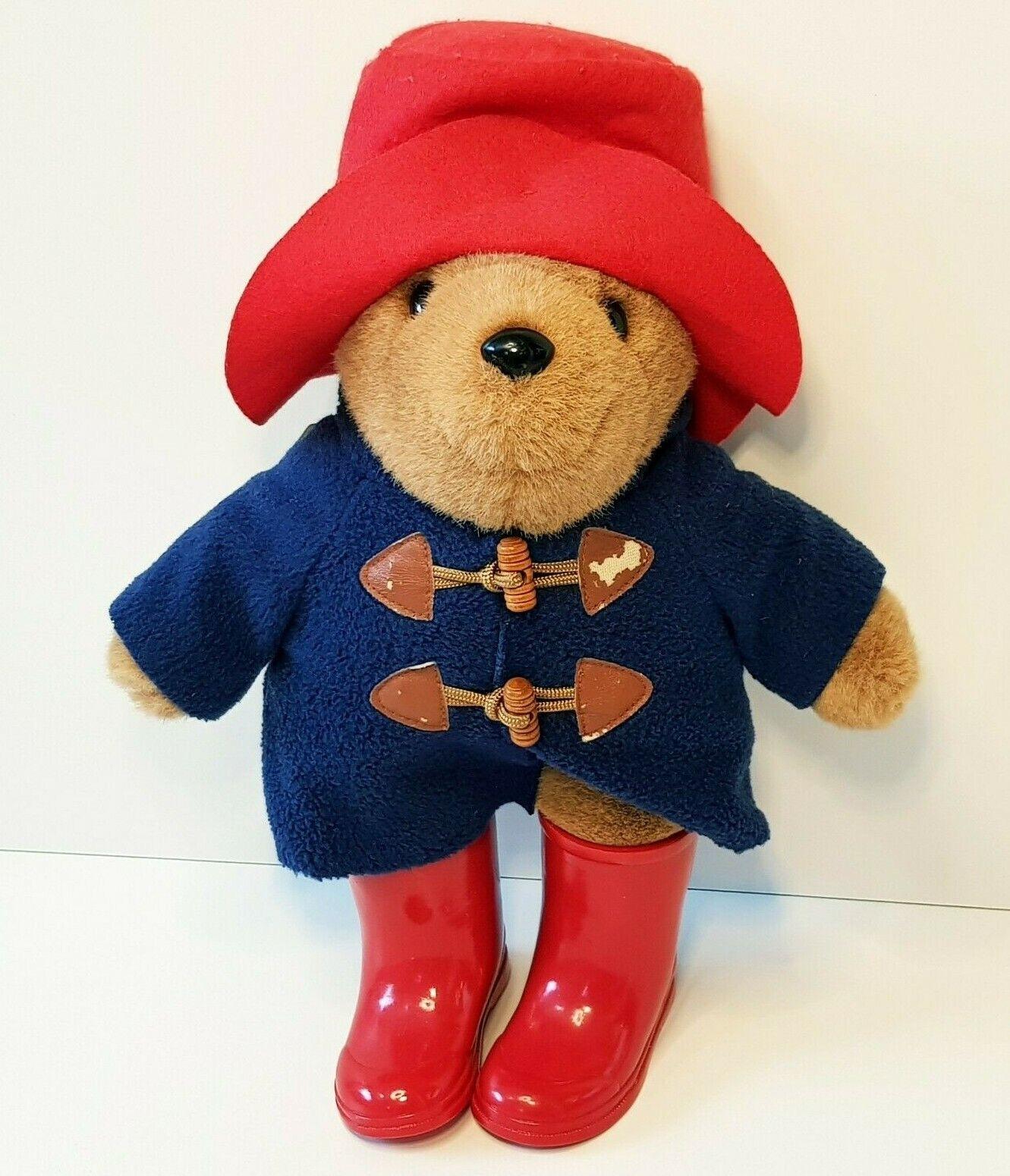 Paddington Bär Teddy Plüsch Design Edition mit roten Stiefeln   34cm