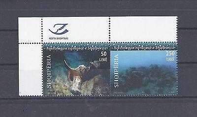 Briefmarken Albanien 11 ** 3337-8 Archäologie Satz Postfrisch Siehe Scan Erfrischung